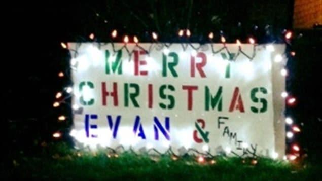 好感动:为了重病的小埃文,安大略小镇十月过圣诞