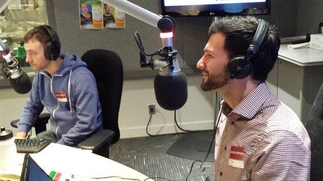 Cyril Mignotet et Florian François de Franc'open mic