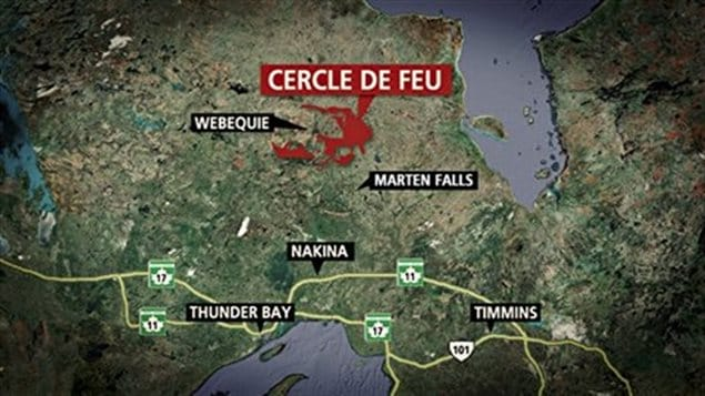Carte du Cercle de feu, l'un des plus importants sites miniers au monde.
