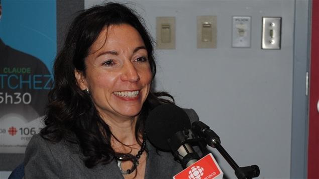 Martine Ouellet, députée de Vachon