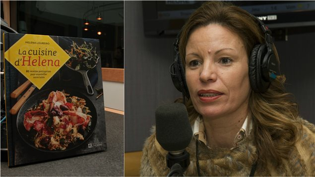 Helene Loureiro était en studio pour parler de son nouveau livre de cuisine