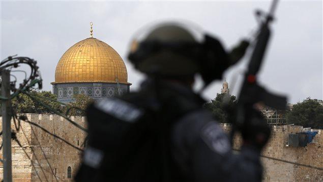 جندي إسرائيلي في القدس (أرشيف)