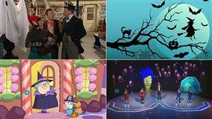 Une fête de l'Halloween diablement géniale à Radio-Canada!