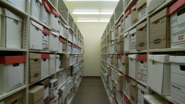 Boîtes d'archives