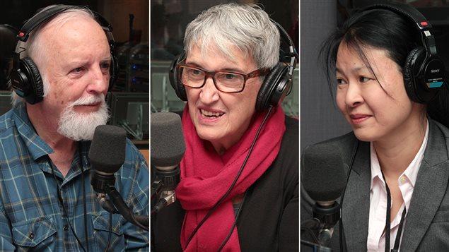 Michel Lambert, Elena Faita et Lilly Nguyen