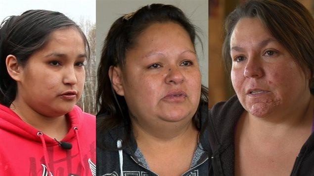 Bianca, Priscillia et Angela, des femmes autochtones à Val-d'Or