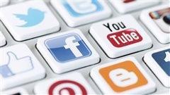 Des logos de médias sociaux