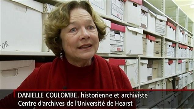 Danielle Coulombe, historienne et archiviste.