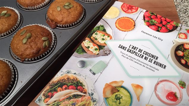 Des muffins «touski» à la citrouille du livre «L'art de cuisiner sans gaspiller ni se ruiner.»