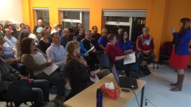 Une réunion sur le parrainage de réfugiés syriens à Saint-Jean, N.-B.
