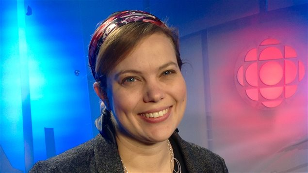 Jennifer McGilliveray, directrice Générale de l'orchestre symphonique de Sudbury.