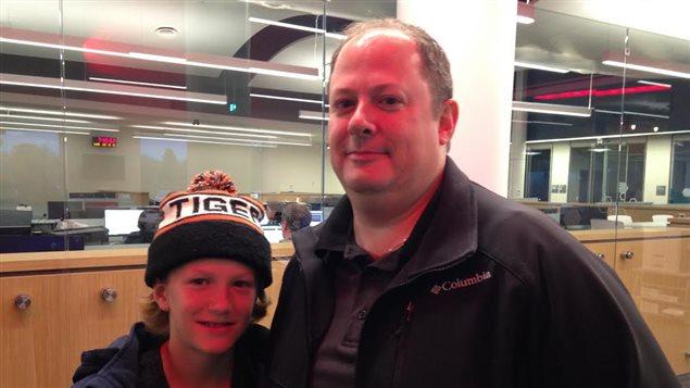 Marc Drisdelle et son fils Philippe