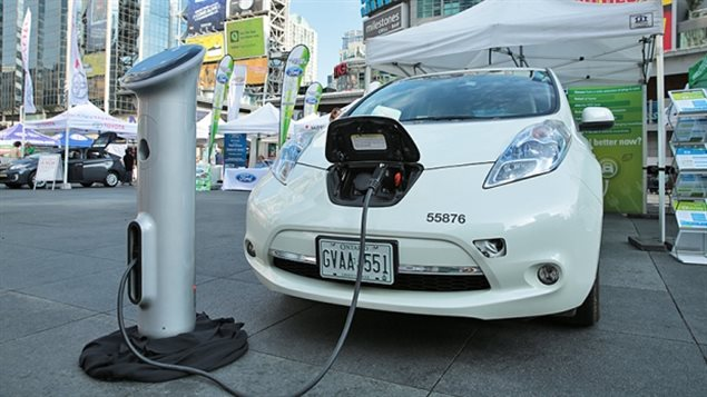 The city of Toronto has a few electric vehicles in its fleet for light inner-city travel. Director of Toronto fleet services, Lloyd Brierly, has said it can take eight hours to charge a vehcile at a