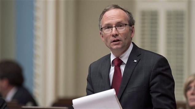 Martin Coiteux, président du Conseil du trésor.
