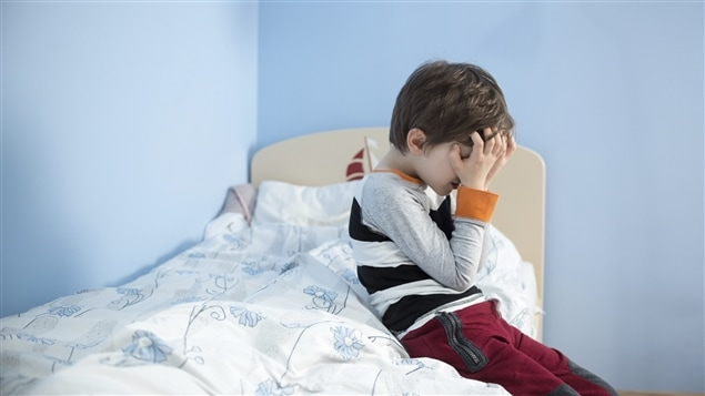 Un enfant mal dans sa peau