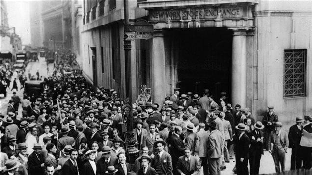 Le Krach De 1929 Tout S 233 Croule 224 Wall Street Aujourd