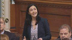 Chantal Soucy, députée caquiste de la circonscription de Saint-Hyacinthe