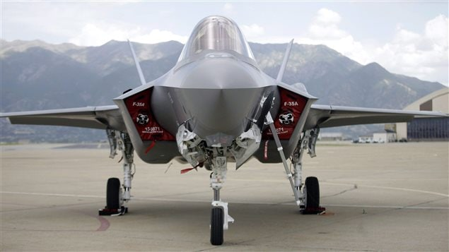 An F-35 jet sits on the tarmac at its new operational base Wednesday, Sept. 2, 2015, at Hill Air Force Base, in northern Utah. The last time a prospective Liberal government promised to cancel a pricey military program it led to a procurement odyssey that stretched more than 20 years, something defence experts say Justin Trudeau would have to avoid with the F-35.