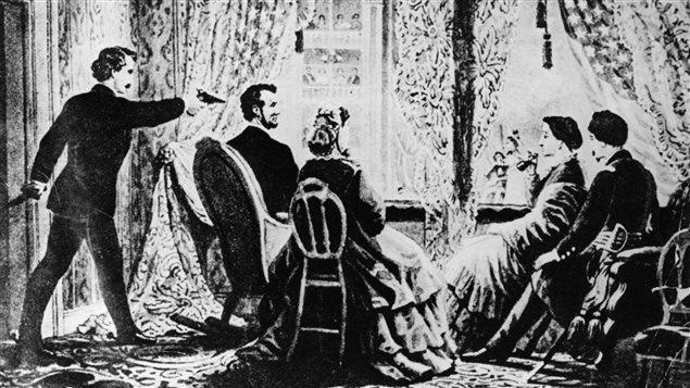 John Wilkes Booth assassine le 16e président américain Abraham Lincoln
