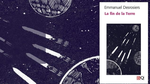 lillustration sur la couverture de la fin de la terre - Resume Roman Science Fiction