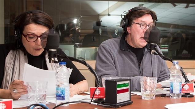 Marie-Thérèse Fortin et Gilles Renaud interprètent un désopilant extrait de <i>Nuit d'ivresse</i>.