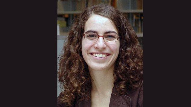 Michelle Landry, auteure de l'ouvrage L'Acadie politique : Histoire sociopolitique de l'Acadie du Nouveau-Brunswick