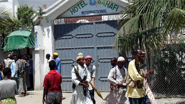 L'hôtel Sahafi de Mogadiscio (archives).
