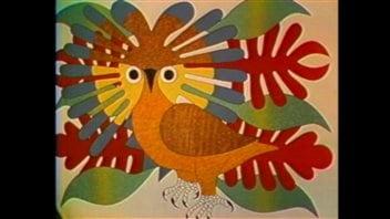 The artwork of Kenojuak Ashevak became famous around the world.