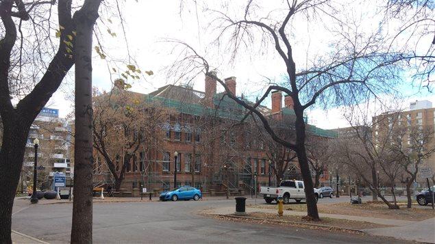 L'ancienne école McKay, sur la 99e Avenue, à Edmonton.