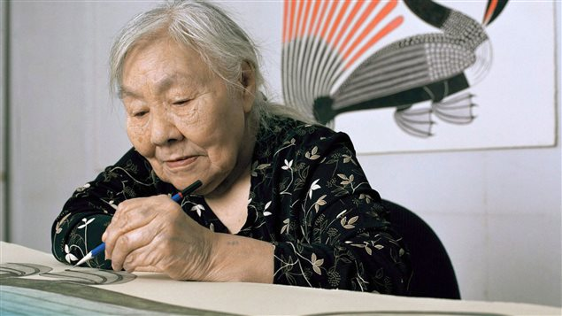 Inuit artist Kenojuak Ashevak became a world-renown icon of the Canadian Arctic.
