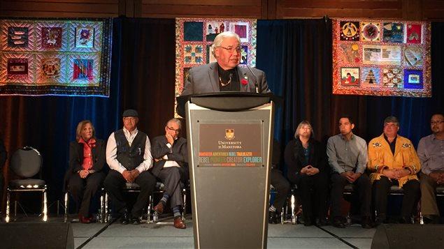 Murray Sinclair, juez y presidente de la Comisión Verdad y Reconciliación.