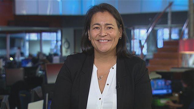 Mich�le Audette, ancienne pr�sidente de l'Association des femmes autochtones du Canada
