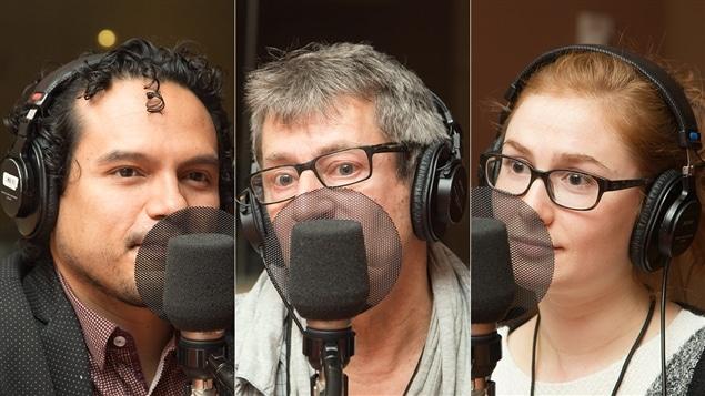 Luis Oliva, Denis-Daniel Boullé et Paméla Dupont