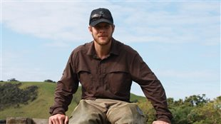 Cody Dey, PhD- co-author of the study on bird colouration while at McMaster University, Hamilton