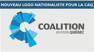 Le nouveau logo de la CAQ