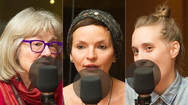 Micheline Lanctôt, Anaïs Barbeau-Lavalette et Sophie Dupuis
