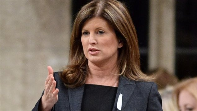 Alberta MP Rona Ambrose has been elected interim leader of the Conservative Party.