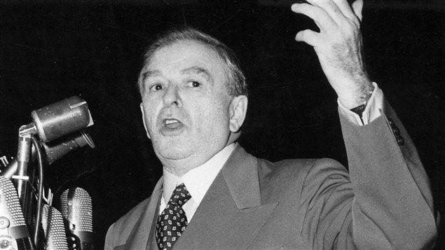 Maurice Duplessis en 1956.