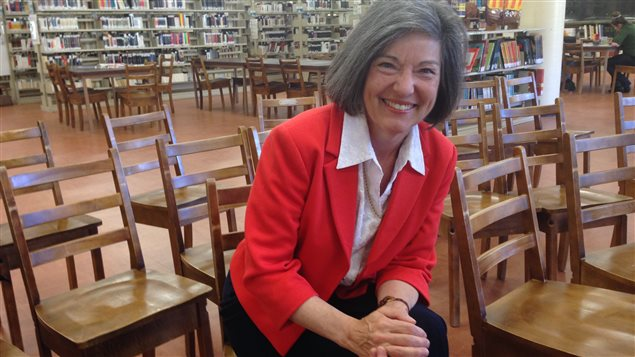 Michèle Gaudreau, fondatrice et directrice du Train des mots
