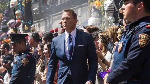 Daniel Craig en James Bond dans <i>Spectre</i>, de Sam Mendes