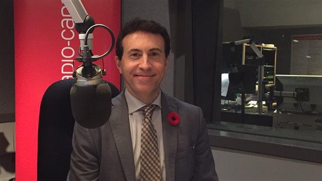 Josep Gonzalez, directeur de la Toronto French School.