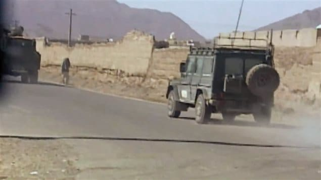 Canadian Mercedes G-wagen patrol vehicles. While offereing slightly more protection than the open Iltis jeeps they replaced, the vehicles could not resist rocket propelled grenades, anti-tank mines, and large improvised bombs.