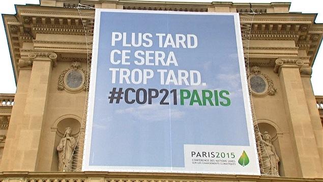 La conférence de Paris sur le climat s'est déroulé du 30 novembre au 11 décembre 2015.