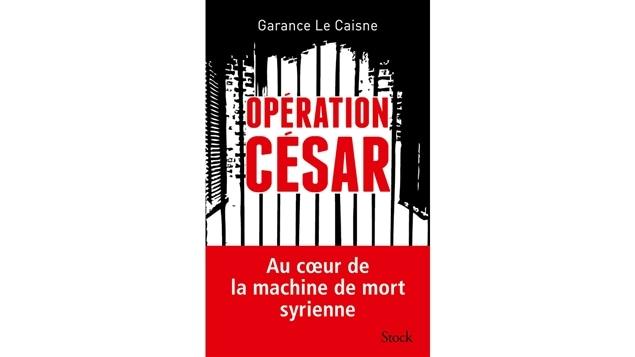 Couverture du livre <i>Opération César</i> de Garance Le Caisne, publié aux Éditions Stock