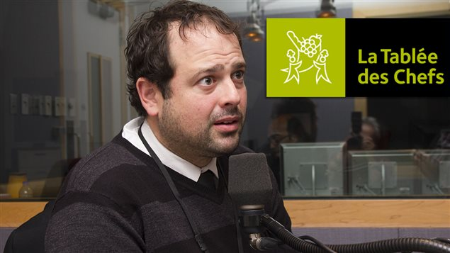 Le directeur g�n�ral et fondateur de La Tabl�e des chefs, Jean-Fran�ois Archambault