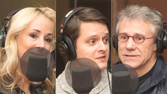 Mariloup Wolfe, Nicholas Savard L'Herbier et Jean-François Pouliot