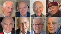 Huit anciens combattants décorés de la Légion d'honneur