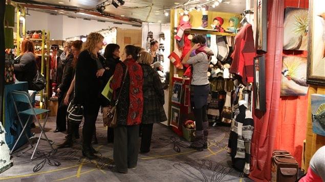 Le 35e salon des m tiers d art est lanc ici radio for Salon metier d art montreal