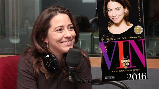 Nadia Fournier, auteure du <em>Guide du vin Phaneuf 2016</em>