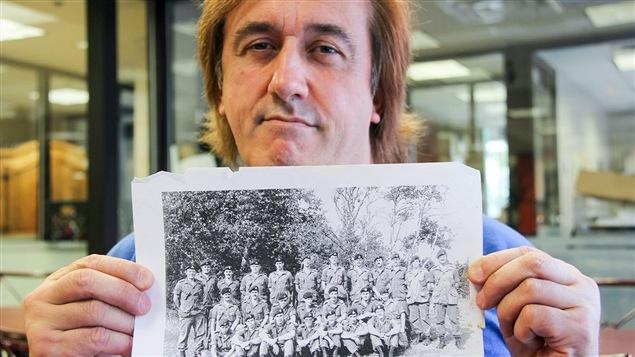 Jean-Hugues Morin a été réserviste dans le régiment d'infanterie Les Fusiliers du St-Laurent, à Rimouski.